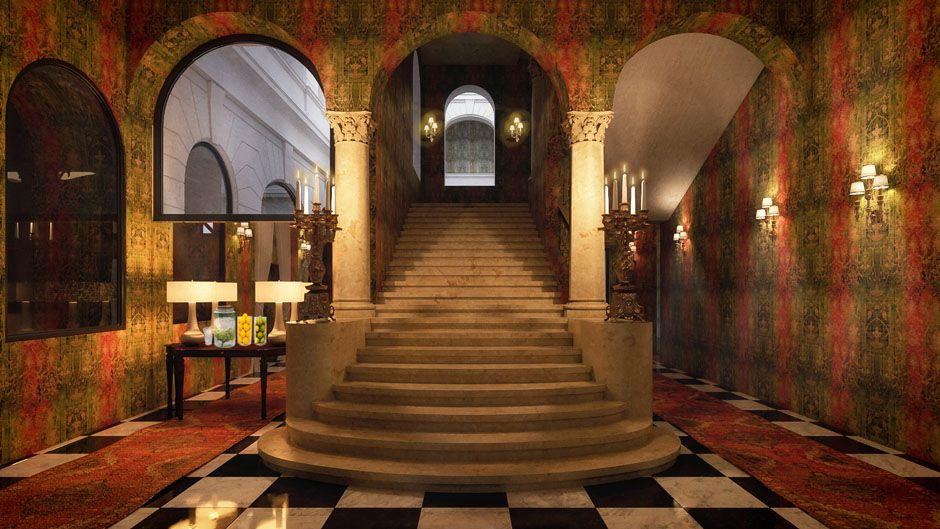 Főbejárat - Mystery Hotel Budapest