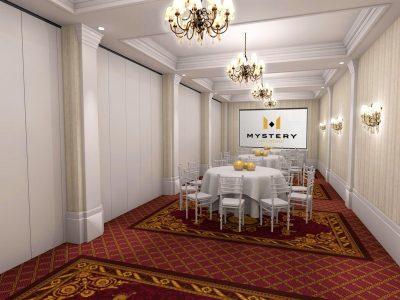 Helikon B Room - Mystery Hotel Budapest