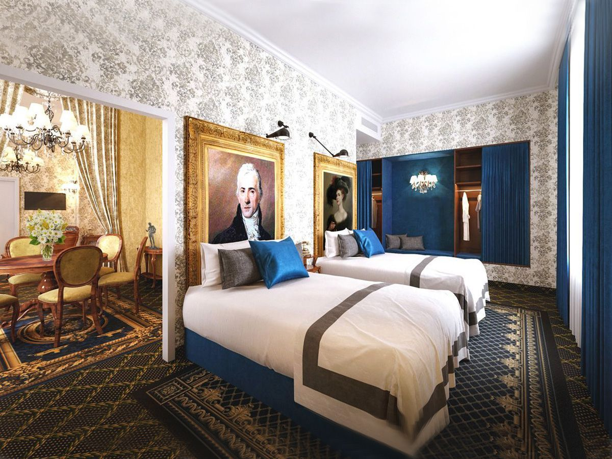 Da Vinci Suite - one bedroom suite - Mystery Hotel Budapest