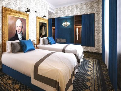 Mystery Double-Double Room - Mystery Hotel Budapest