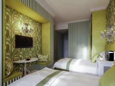 Superior Double-Double Room - Mystery Hotel Budapest