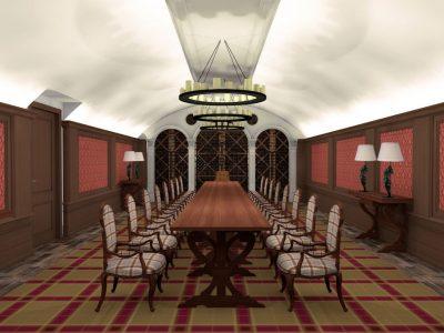 Orpheus Room - Mystery Hotel Budapest