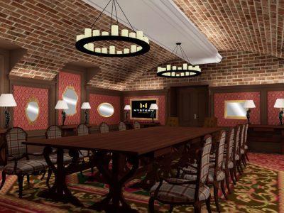 Pythagoras Room - Mystery Hotel Budapest