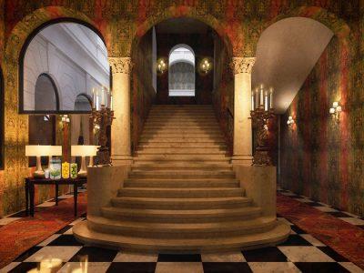 Main Hall - Mystery Hotel Budapest