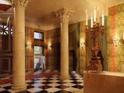Main entrance - Mystery Hotel Budapest