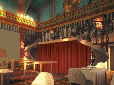 The Great Hall Restaurant - Mystery Hotel Budapest