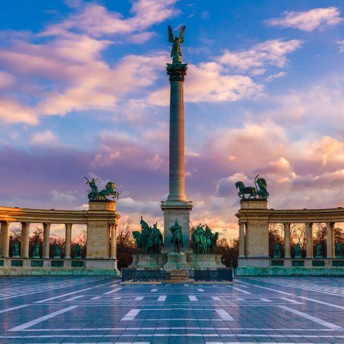 Heroes' Square & City Park - Mystery Hotel Budapest