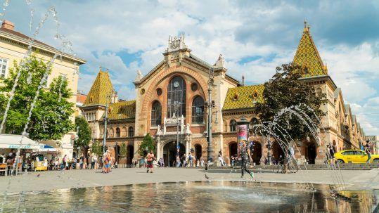 Központi Vásárcsarnok - Mystery Hotel Budapest