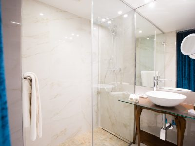 Atelier Studio bathroom - Mystery Hotel Budapest