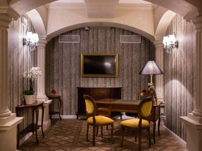 Concierge desk - Mystery Hotel Budapest