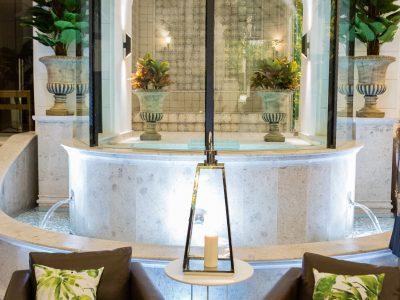 The Secret Garden Spa jacuzzi - Mystery Hotel Budapest