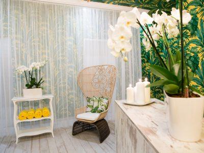 The Secret Garden Spa reception - Mystery Hotel Budapest