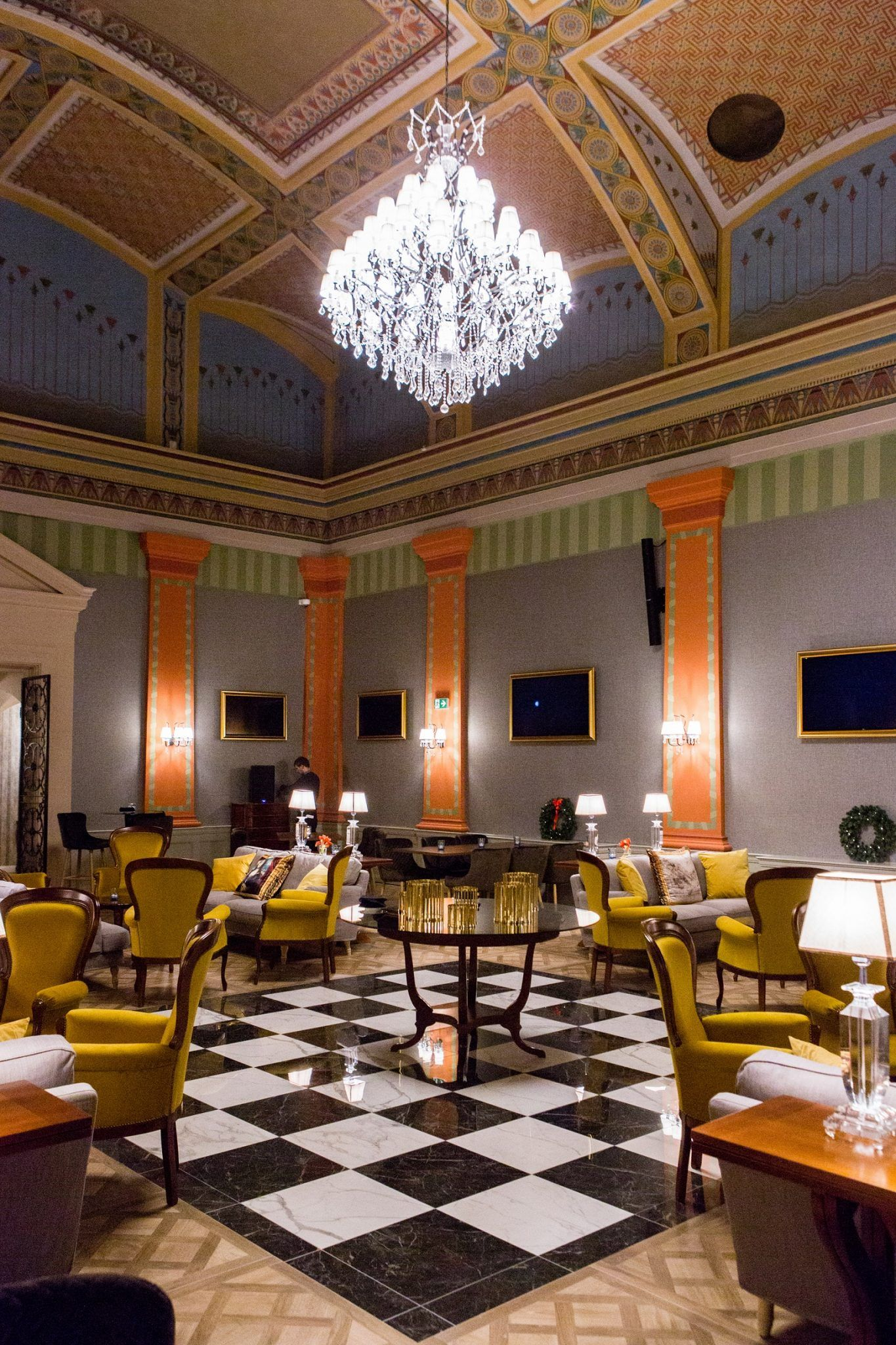 The Great Hall - Mystery Hotel Budapest