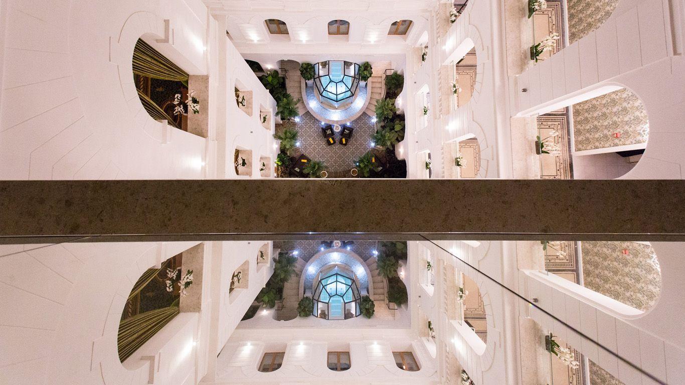 Secret Garden Spa felülnézetből - Mystery Hotel Budapest
