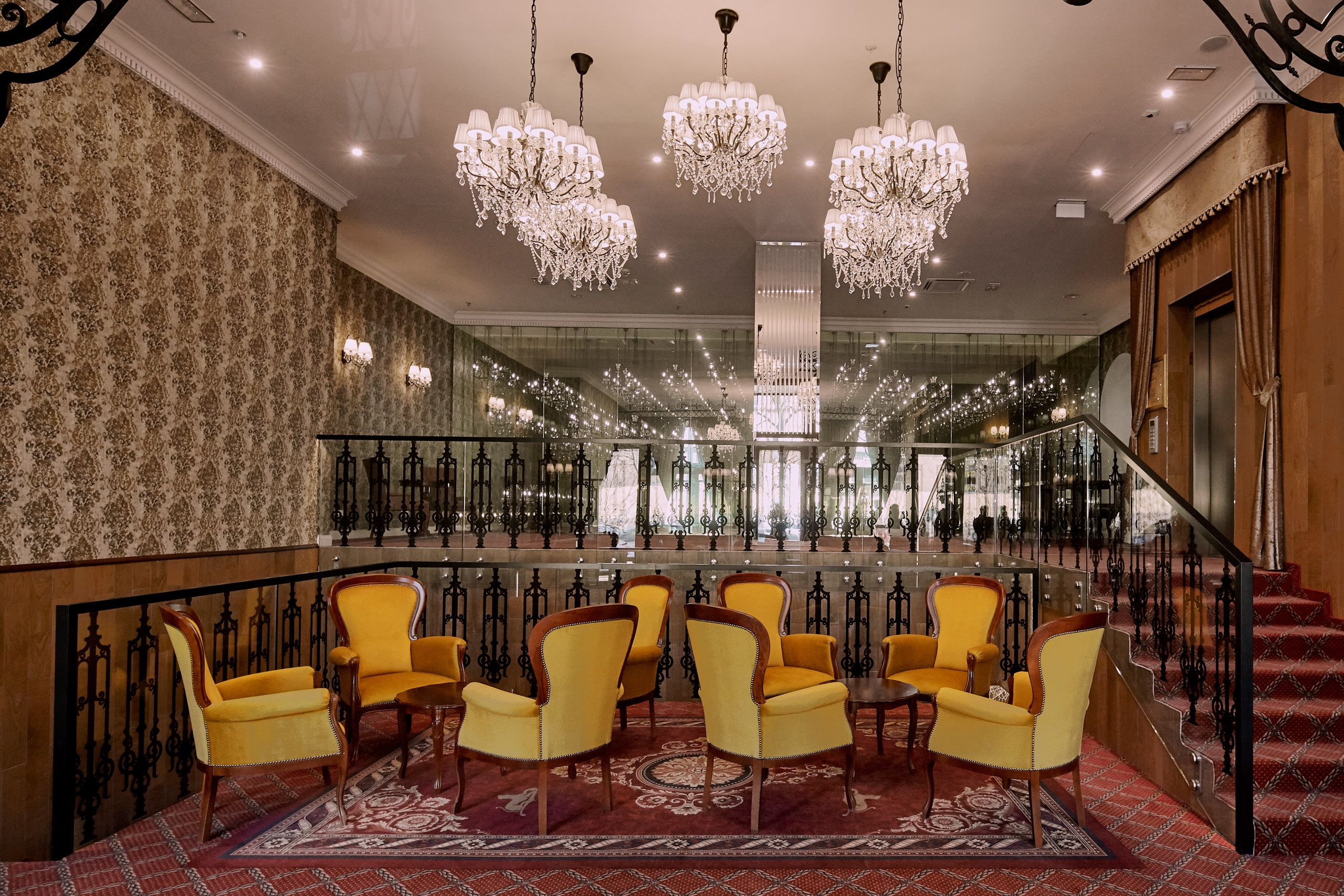 Conference Lounge - Mystery Hotel Budapest