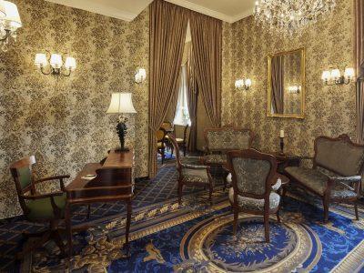 Da Vinci Suite salon - Mystery Hotel Budapest