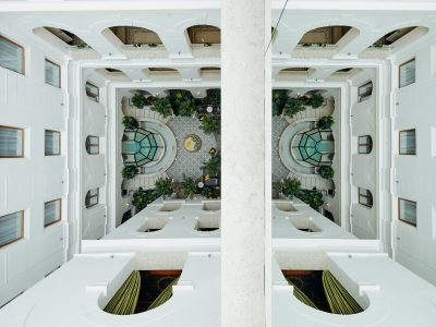 The Secret Garden Spa birdview - Mystery Hotel Budapest