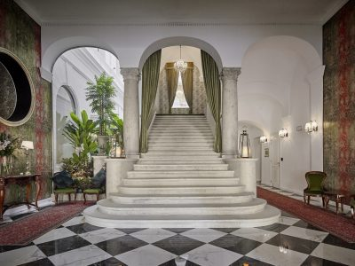 Main staircase - Mystery Hotel Budapest