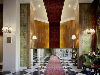 Reception - Mystery Hotel Budapest