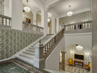 Staircase - Mystery Hotel Budapest